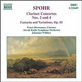 シュポア:クラリネット協奏曲第2, 4番/幻想曲 Op. 81