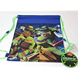 Teenage Mutant Ninja Turtles(ティーンエイジ?ミュータント?ニンジャ?タートルズ)Sling Bag(ナップサック) [並行輸入品]