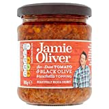 (Jamie Oliver (ジェイミー・オリヴァー)) 180グラムをトッピングトマト&黒オリーブのブルスケッタ (x4) - Jamie Oliver Tomato & Black olive Bruschetta Topping 180g (Pack