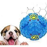 LOSOUL 犬おもちゃ 噛む 餌入れおやつボール 磨き用ボール 歯の清掃 耐久性 弾力性がいい