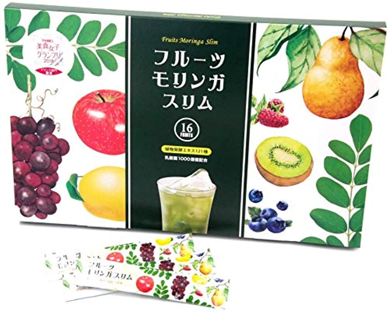 駐地命題師匠フルーツ モリンガ 美容 健康 栄養 食習慣 ボディメイク 国産品 (1箱/3g×30包+シェーカー)