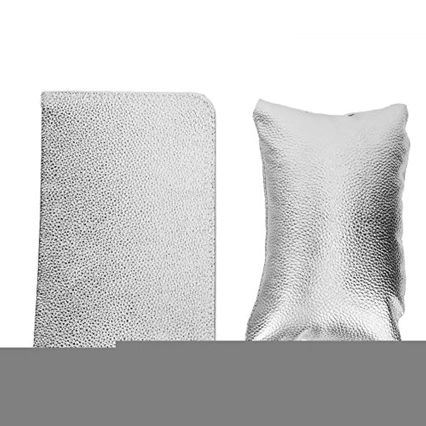 ダイバー依存するどうしたのネイルマット ハート柄 手の枕 マニキュアツール ネイルアートハンドピローパッドセット ハンドアームレストホルダークッション折りたたみ式テーブルマット(02)