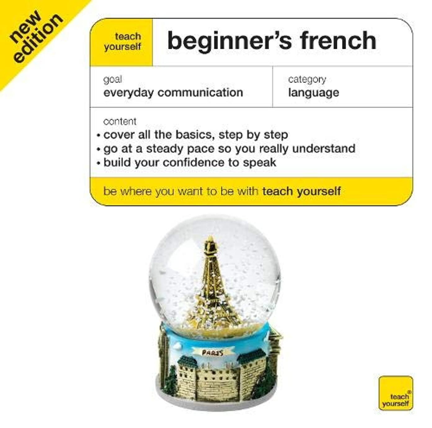 入場追加余剰Teach Yourself Beginner's French CDs (4e) (Tybl)