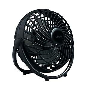 Digio2 USB扇風機 ブラック UA-045BK