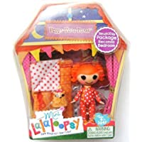 Mini Lalaloopsy Doll- mini Lara loop Sea Doll - PEPPY POM POMS Sleepy Series parallel import goods