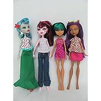 Monster High Doll Clothes : 4 Sets Fit Monster High Dolls (No Dolls)