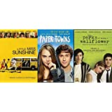 Growing Up Is... Hard: Paper Towns & The Perks Of Being A Wallflower & Little Miss Sunshine Triple Feature DVD Bundle Dark Comedies