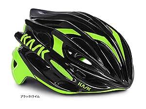 KASK(カスク) MOJITO <ブラック/ライム> ロードヘルメット L