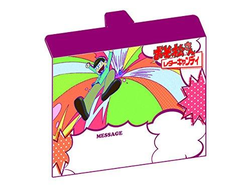 おそ松さん レターキャンディ BOX商品 1BOX = 18個(9種×2)、全9種類(食玩)