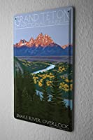 Tin Sign Adventurer Grand Teton National Park