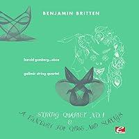 Fantasy for Oboe & String Trio F Min
