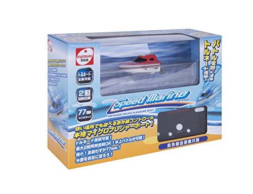 京商EGG マイクロプレジャーボート スピードマリン(Speed Marine)  レッド 赤外線 屋内専用