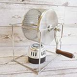 コッタ(Cotta) 手動コーヒー豆焙煎機 シルバー 16.2×21.2×14.5cm 87795