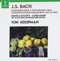 Concertos Pour 1 Et 2 Violons Bwv1041 1042 1043 by J.C. Bach (2008-03-11)