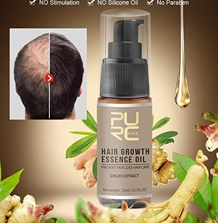 旋律的寛大な強調する3本X PURC 30 ML髪の速い成長のスプレーで抜け毛防止 3pcs X PURC 30ML Hair Fast Growth Spray Preventing Hair Loss Treatment