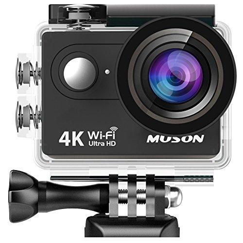 【進化版】MUSON(ムソン)アクションカメラ 4K高画質 ...