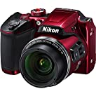 Nikon Coolpix b500Wi - Fiデジタルカメラ(レッド)–(認定Refurbished )