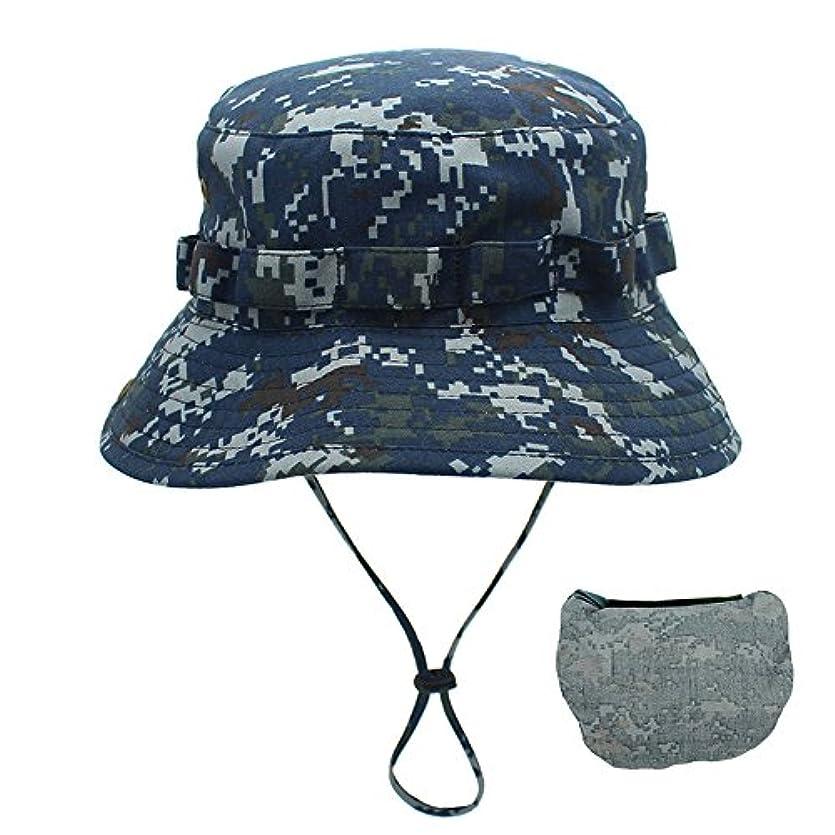 幸運なことにサミットリラックス釣り帽子 アウトドア帽子 迷彩 登山 ハイキング つば広 折りたたみ 日よけ 収納便利 メンズ
