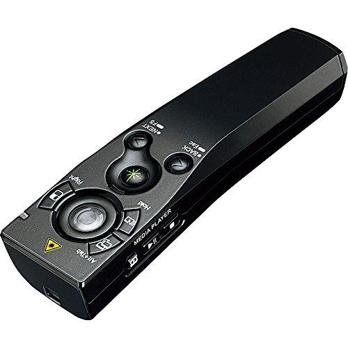 コクヨ 緑色レーザーポインター マウス機能付 UD形状 ELA...