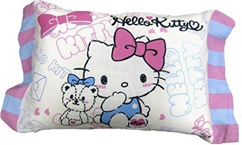 枕 ジュニア枕 キティ リラックマ マイメロディ すみっこぐらし (ポップキティ)