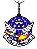 「自衛隊大作戦」ラバーキーホルダーNo.9 航空自衛隊 第11飛行隊ブルーインパルス
