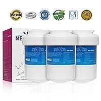 Neptune MWF冷蔵庫水フィルター交換用GE MWF、MWFP、MWFA、GWF、Gwfa、Smartwater、Kenmore 9991、46–9991、469991 NW-MWF