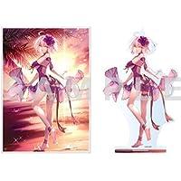 アニプレックス Fate/Grand Order マシマサキ描き下ろし ジャンヌ・ダルク〔オルタ〕 イラスト使用「海辺の夕暮れ」セット(B2マルチクロス、アクリルマスコット 各1点づつ)