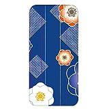 ホワイトナッツ Huawei Mate S CRR-L09 ケース クリア ハード プリント パターンC(cw-1053) スリム 薄型 花柄 和柄 フラワー WN-PR450707