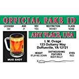 Official Fake Fun Fake ID License Card by Signs 4 Fun [並行輸入品]