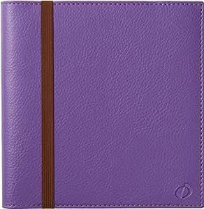 クオバディス 手帳 2016 タイムアンドライフ 16x16 ウィークリー パープル qv540pu