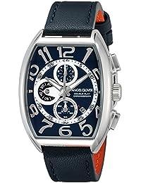 [エンジェルクローバー]Angel Clover 腕時計 ダブルプレイ アーバンブルー・コレクション ネイビー文字盤 カーフ革ベルト クロノグラフ DP38SNVNV メンズ