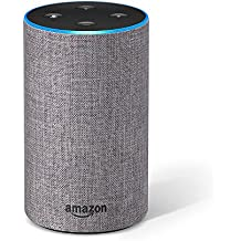 Introducing Amazon Echo (2nd generation), Heather Grey