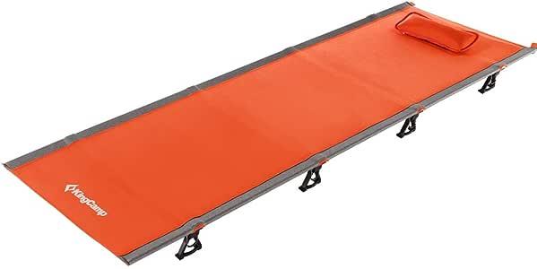 KingCamp 改良品 コット 国際デザイン大賞 キャンプコット 簡易 コンパクト 折りたたみ ベッド 超軽量 航空アルミ 5色 収納袋付き 防水 通気性