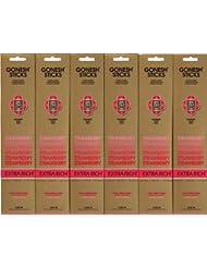 GONESH STRAWBERRY ストロベリー スティック 20本入り X 6パック (120本)