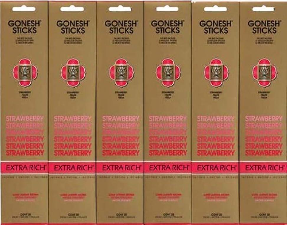 合意会議位置するGONESH STRAWBERRY ストロベリー スティック 20本入り X 6パック (120本)