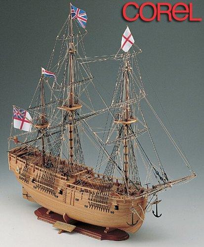 1102 木製帆船模型 コーレル SM41 エンデバー ENDEAVOUR