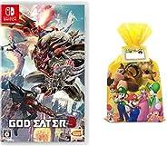 GOD EATER 3 -Switch+【Amazon.co.jp限定】 ギフトラッピングキット (スーパーマリオキャラクター集合2ver.メッセージシール付)