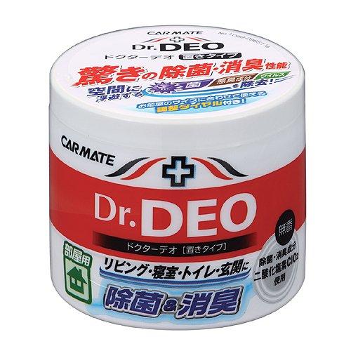 酸化分解で強力除菌・消臭 ウイルスも除去 「ドクターデオ 置きタイプ 部屋用 販売ルート限定品」 130g ホワイト DSD3