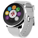 [マイクロノス]MyKronoz 腕時計 ZEROUNDスマートウォッチ KRZEROUND-SILVER  【正規輸入品】