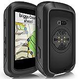 TUSITA Case for Garmin Edge 530 - Silicone Protective Cover - Cycling GPS Computer Accessories (Black)