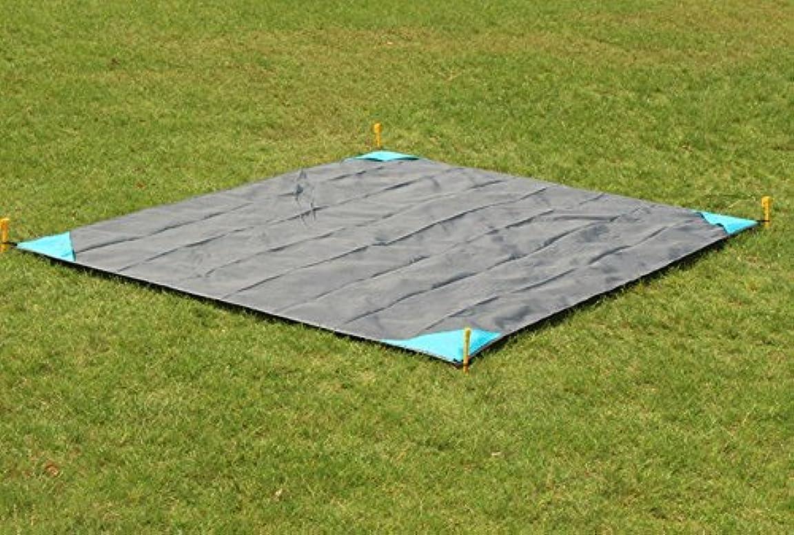 マッシュ決めます肌テントシート キャンピング マット フロアマット ピクニックパッド 防水 200*140cm 1~4人用