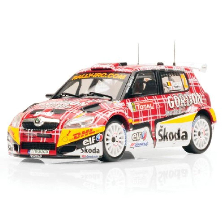 イクソ 1/43 Skoda Fabia S2000 No2 IRC Ypres Rally 2009 完成品