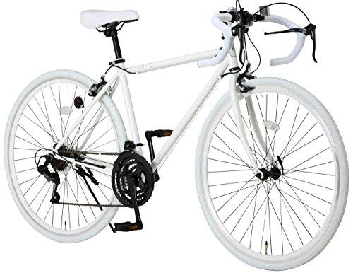 Grandir(グランディール) ロードバイク 700C シマノ21段変速[サムシフター]  2WAYブレーキシステム搭載  フレームサイズ470 Grandir Sensitive ホワイト [470]