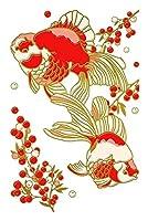 東洋ケース シール デコレーション (スマホ・ガラケー) 蒔絵シール MIYABI 金魚 MIYABI-03