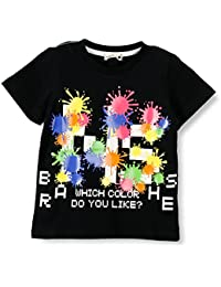 (ブランシェス) branshes カラフルプリント半袖Tシャツ