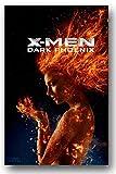 Dark Phoenixポスター???ムービーPromo???X - Men Jean Grey 11?x 17インチ手