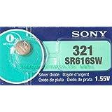 SONY SR616SW(321) 1個(バラ売り) 日本製 酸化銀ボタン電池