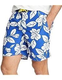 (ポロ ラルフローレン) Polo Ralph Lauren 《 ポニー 刺繍 フローラル 花柄 パームアイランド スイムウエア 水着 : 7 1/2 Inch Palm Island Swim Trunk 》 [並行輸入品]
