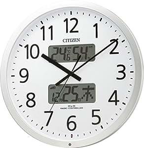 CITIZEN(シチズン) 電波掛け時計 プログラムカレンダー403 チャイム付き 4FN403-019