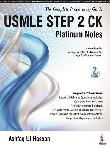 Download USMLE Platinum Notes Step 2 9352501721